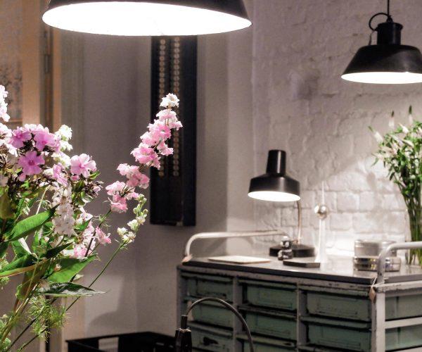 Vintage Industriemöbel Loftstyle Fabriklampe