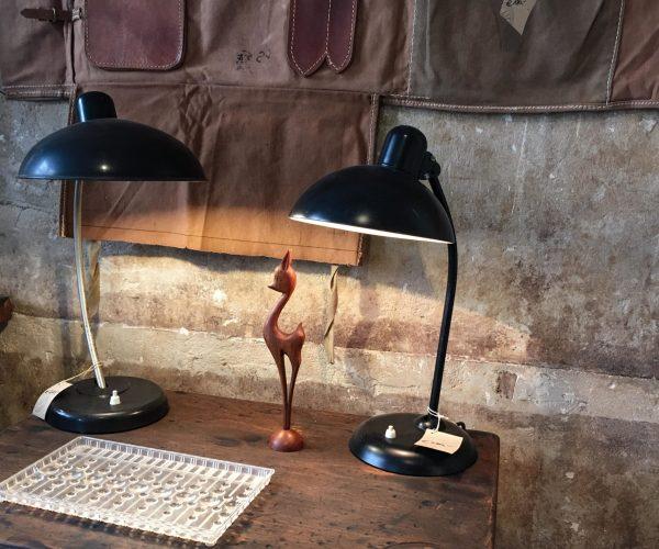 Industriemöbel Vintage Bauhaus Schreibtischlampen Helion Arnstadt Kaiser Idell